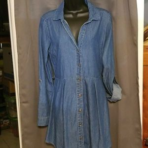 Derek Heart lightweight denim dress size M